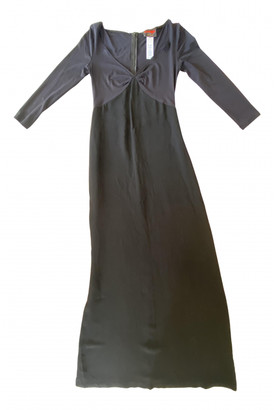 Christian Lacroix Black Viscose Dresses