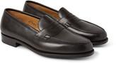 Edward Green Duke Leather Penny Loafers