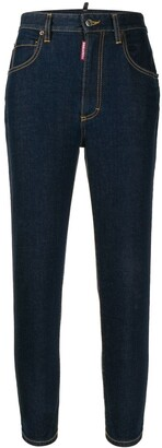 DSQUARED2 high-waisted jeans