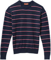 Joe Fresh Men's Stripe Pullover, Navy (Size XXL)