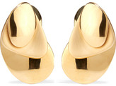 Charlotte Chesnais Gold-dipped Earrings - one size