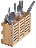 T&G Woodware Cutlery Holder in Hevea Wood for use with Folding Plate Rack 10091