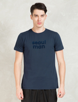 A Question Of Navy Seoul Man S/S T-Shirt