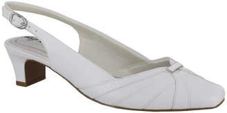 Easy Street Shoes Womens Pilar Pumps Square Toe Block Heel