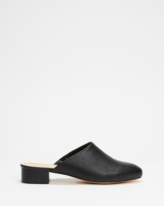 Spurr Women's Black Mid-low heels - Coby Heels - Size 6 at The Iconic
