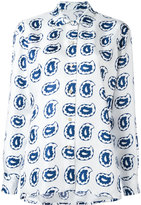 Kiton paisley print shirt - women - Silk - 44