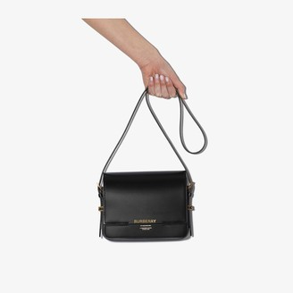 Burberry black Grace Leather cross body Bag
