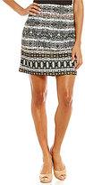 Alex Marie Serena Knit Printed Skirt