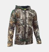 Under Armour Boys' UA Logo Camo Hoodie