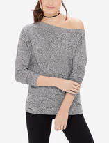 The Limited Ribbed One-Shoulder Sweater