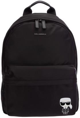 Karl Lagerfeld Paris K/Ikonik Logo Backpack