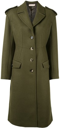 Marni Long Single-Breasted Coat