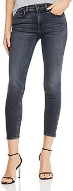 Rag & Bone Cate Zip Hem Ankle Skinny Jeans in Abbey Road