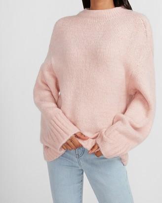 Express Cozy Mock Neck Tunic Sweater