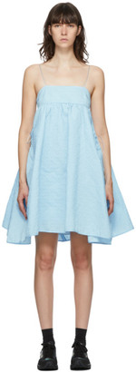 Cecilie Bahnsen Blue Lisbeth Dress
