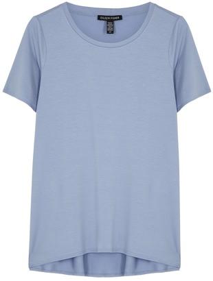 Eileen Fisher Light Blue Jersey T-shirt