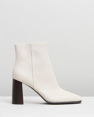 Senso Women's White Heeled Boots - Zala I - Size One Size, 39 at The Iconic