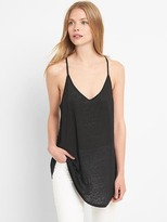Gap Linen V-neck cami