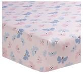 Bedtime Originals Crib Sheet - Butterfly Meadow