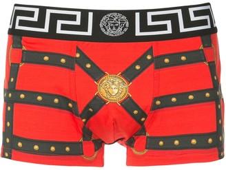 Versace Harness Print Boxer Shorts