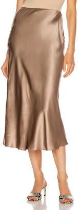 SABLYN Miranda Midi Skirt in Nutmeg   FWRD