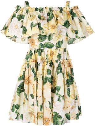 Dolce & Gabbana Floral-Print Dress