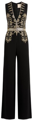 Cucculelli Shaheen Arrows Embellished Jumpsuit