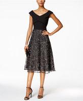 Alex Evenings Embellished A-Line Dress