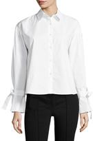 J.o.a. Cotton Tied Shirt