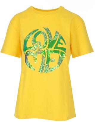 Alberta Ferretti Love Me Sequins T-Shirt