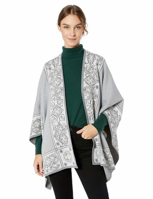 Foxcroft Women's The Walker Paisley Jacquard Ruanna