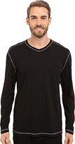 Agave Men's Nichols Long Sleeve Baseball V-Neck T-Shirt