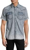 True Religion Denim Short-Sleeve Shirt