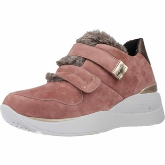 Stonefly Women's Elettra Goat Suede/sint. Fur Gymnastics Shoes
