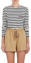 """Maison Labiche Women's Mariniere """"Bonjour"""" Striped Cotton T-Shirt"""