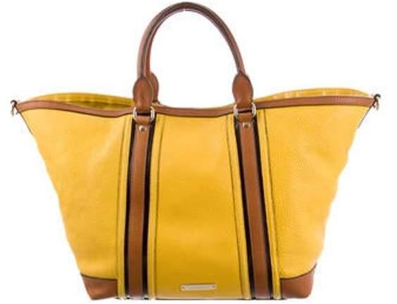 Leather Satchel Bag Yellow Leather Satchel