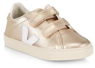 Veja Baby's, Little Girl's & Girl's Esplar Metallic Grip-Tape Sneakers