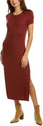 Three Dots Ribbed Maxi Dress