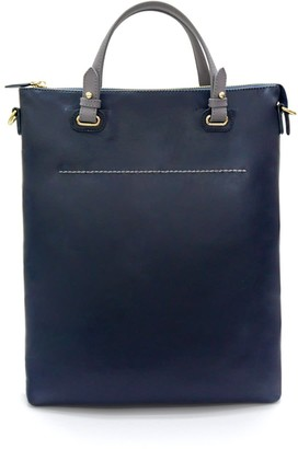 Neyuh Leather The Stella Tote - Blue