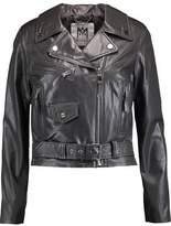 Milly Leather Biker Jacket