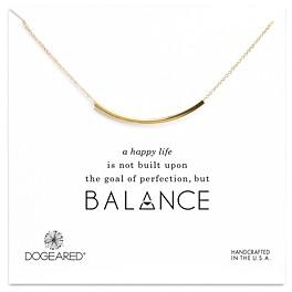 Dogeared Balance Tube Necklace, 16