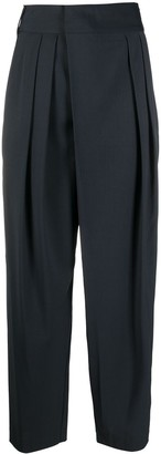 Low Classic Tapered Leg Trousers