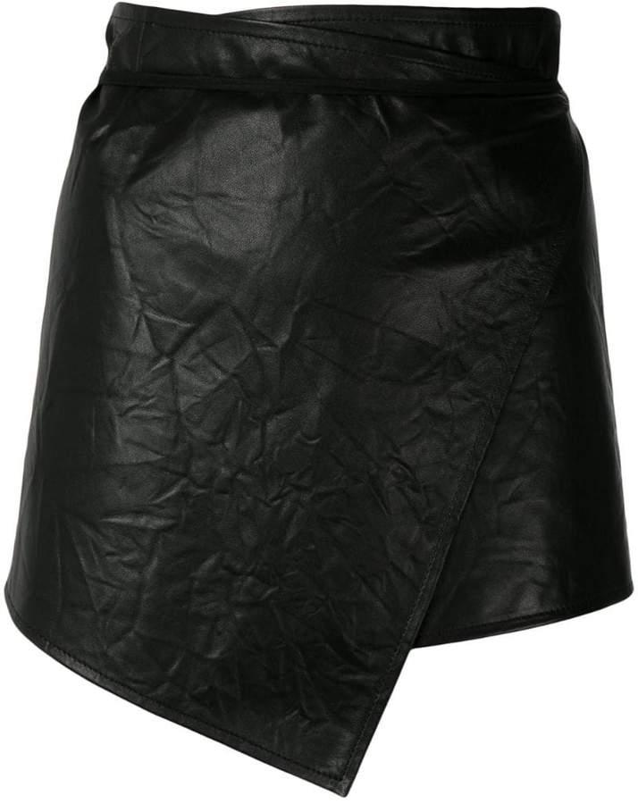 Ann Demeulemeester asymmetric style skirt