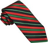Asstd National Brand Hallmark Candy Cane Lurex Striped Tie