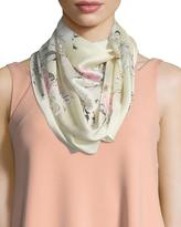 Vince Camuto Happy Flowers Oblong Scarf