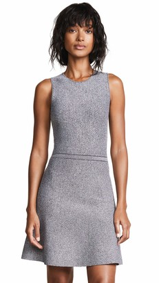 Theory Women's Sleeveless Flare Knit Dress