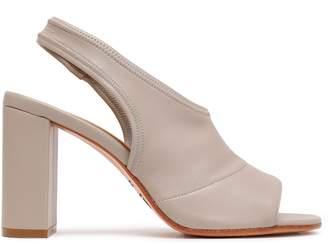 MM6 MAISON MARGIELA Faux Leather Slingback Sandals