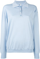 Loewe knitted polo jumper - women - Cotton - S