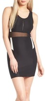 Topshop Women's Zip Sporty Body-Con Dress
