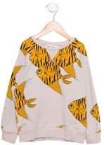 Mini Rodini Boys' Fish Pullover Sweatshirt